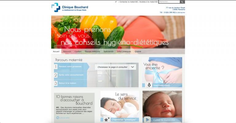 copie d'écran du projet Vitalia