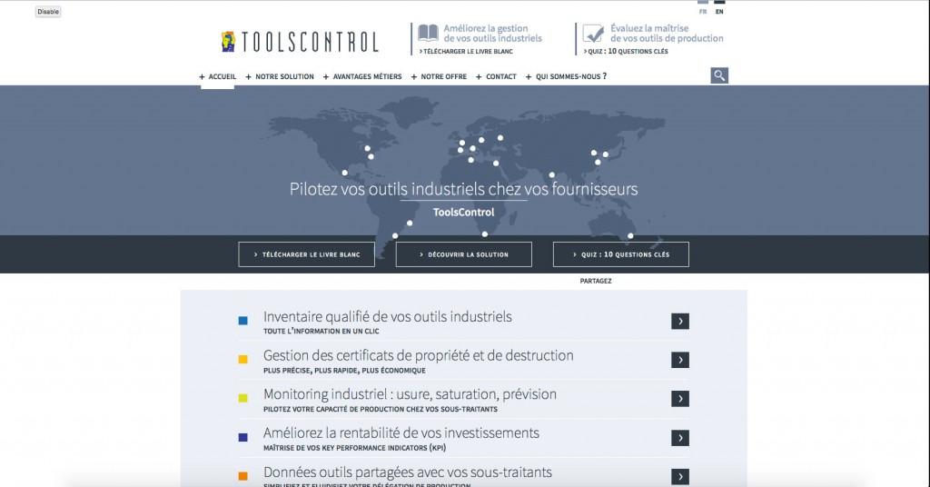 copie d'écran du projet toolscontrol.management